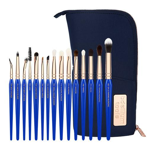 Bdellium Tools Golden Triangle 15pc Eyes Only Complete Brush Set