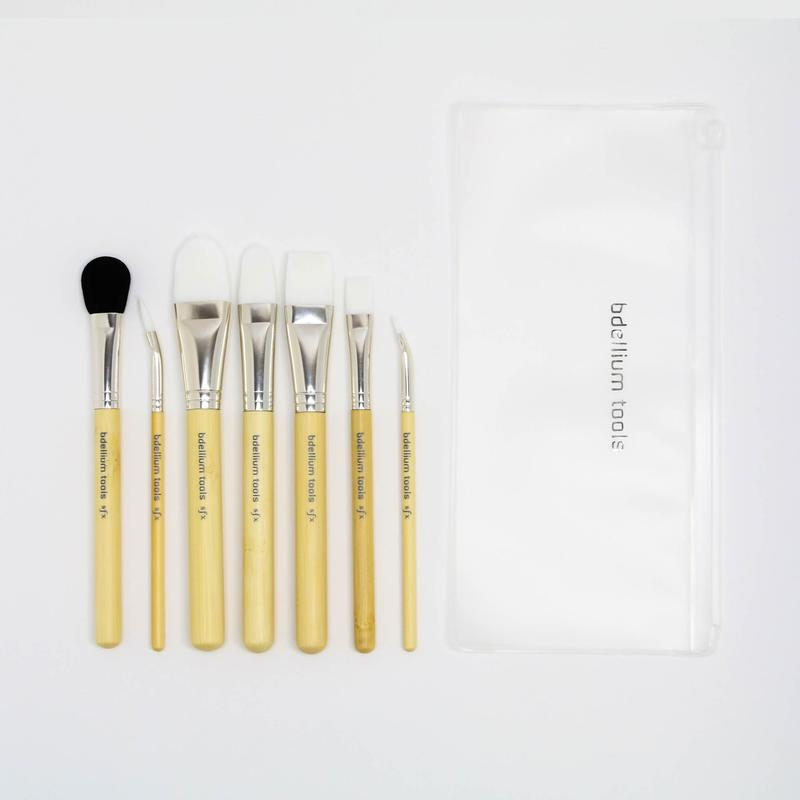 Bdellium SFX 7pc Glue Brush Set