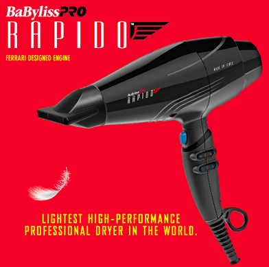 BaByliss Pro Rapido Blow Dryer