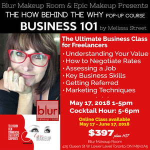 Business 101 Course for Freelance Makeup Artists