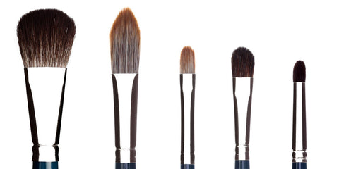 London Brush Company NouVeau Travel Brush Set (Vegan)