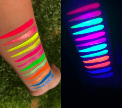 LIT Cosmetics Intense Neon Pigments (Black Light Sensitive)