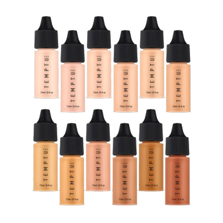 Temptu Perfect Canvas Hydra Lock Airbrush Foundation 12-Pack (Pre-order)
