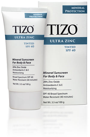 TIZO Ultra Zinc Face and Body Mineral Sunscreen SPF40