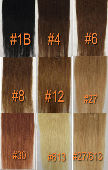 "GRBT 18"" 100% Human Hair Extension"