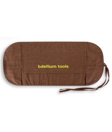 Bdellium Tools Pink Bambu Roll Up Pouch