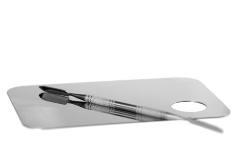 Stainless Steel Palette & Spatula Set