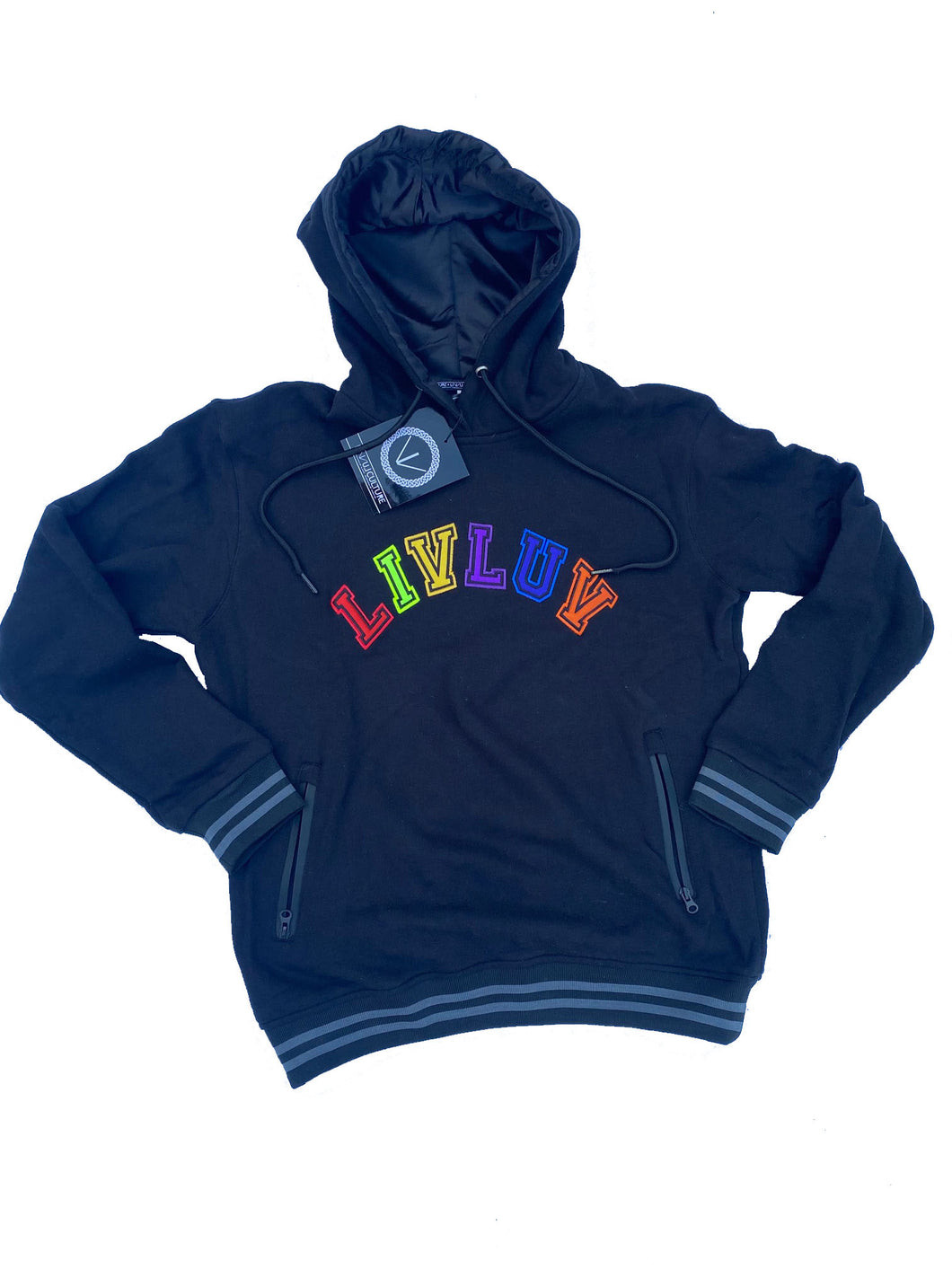 French terry colors hoodie