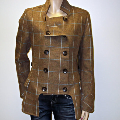 Egality Tweed Jacket Freedom Liberty