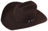 Classic Western Hat - Chocolate