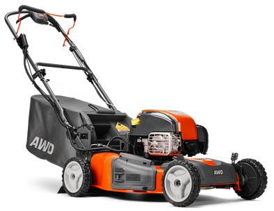 "Husqvarna HU725AWDEX (22"") 163cc Briggs Self-Propelled All-Wheel Drive Lawn Mower w/ Electric Start"