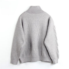 Bobble Sweater - Indigo