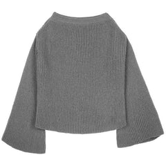 Bellsleeve Sweater - Indigo