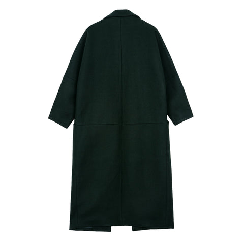 Forest Green Robe Coat - Indigo