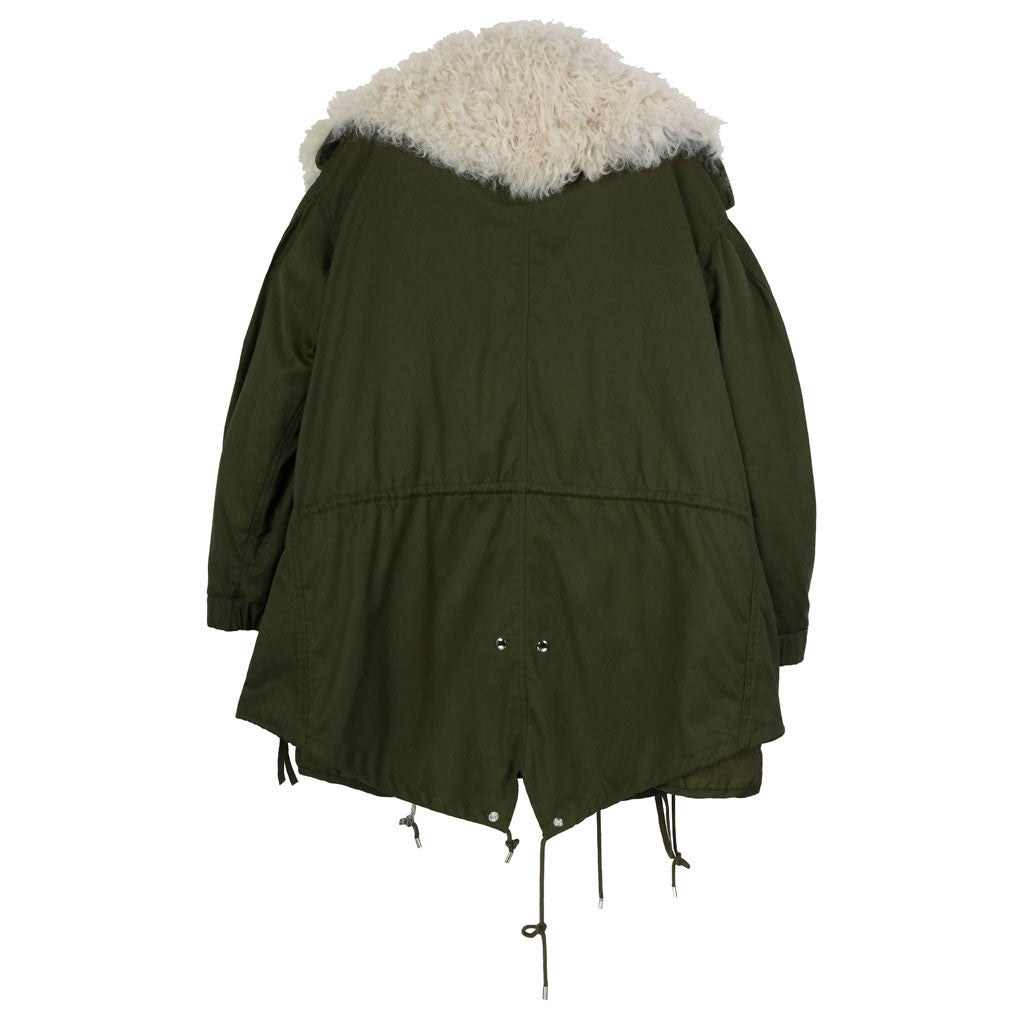 Forest Green Parka - Indigo
