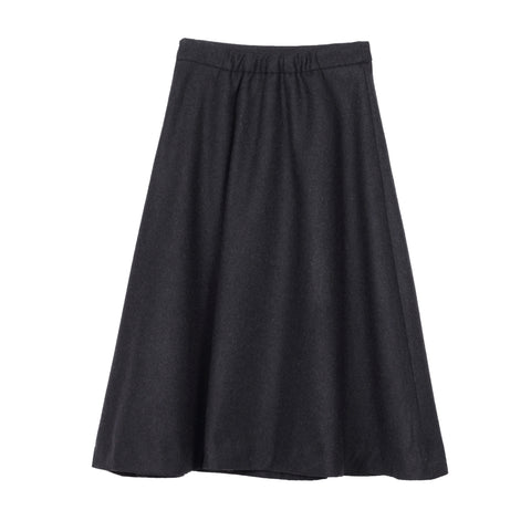 Black A-Line Skirt - Indigo