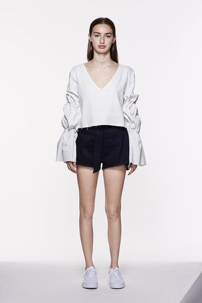 OFF-WHITE TOP - Indigo