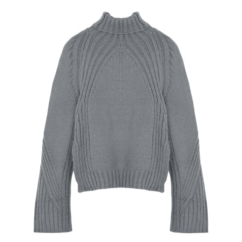 Angular Sweater - Indigo
