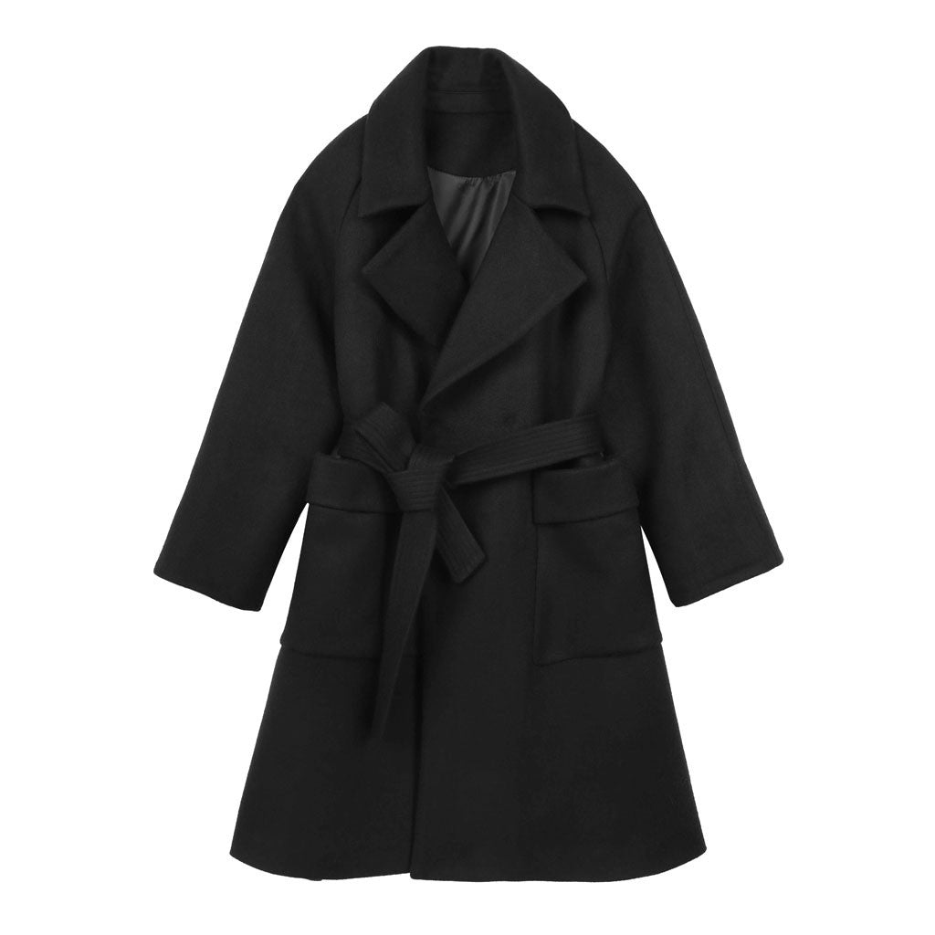 Wrap Coat - Indigo