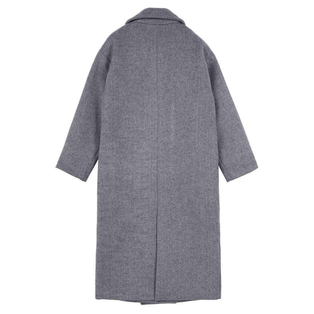 Newsboy Overcoat - Indigo