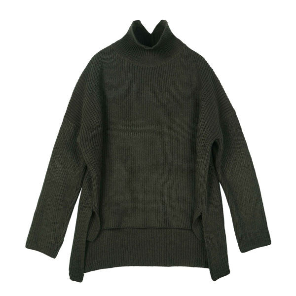 Evergreen Turtleneck - Indigo