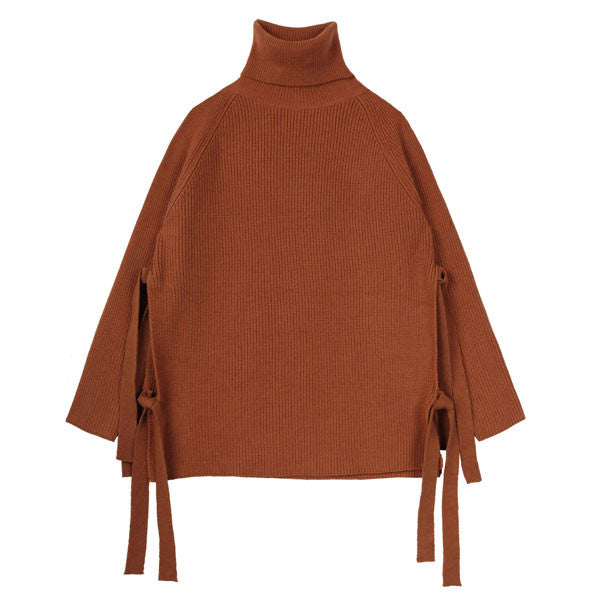 Burnt Orange Tent Sweater - Indigo