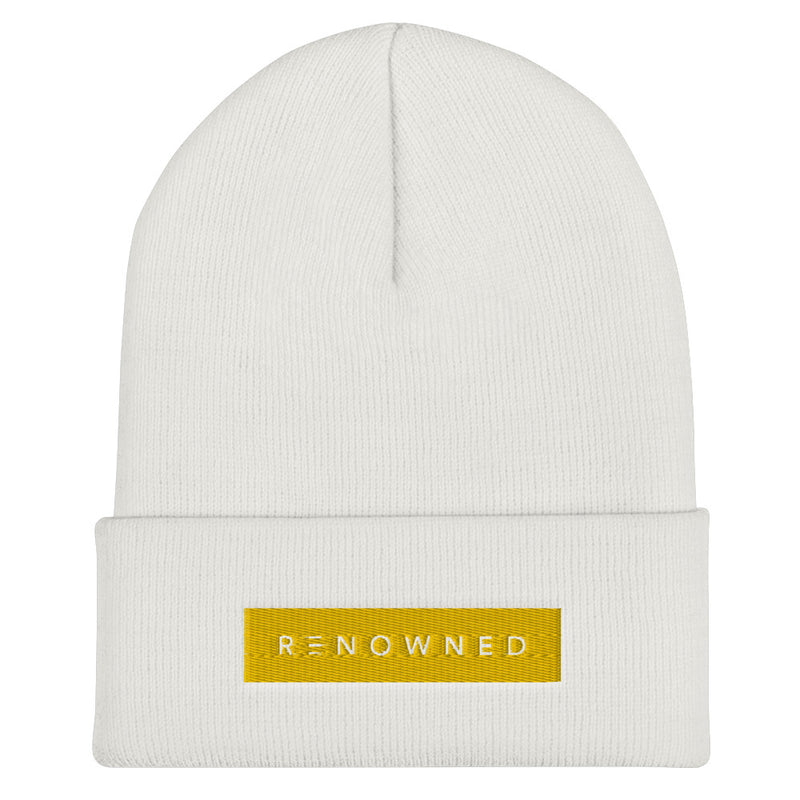 Renowned Cuffed Beanie Hat