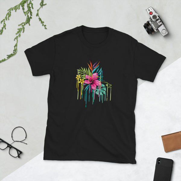 Flower Short-Sleeve T-Shirt