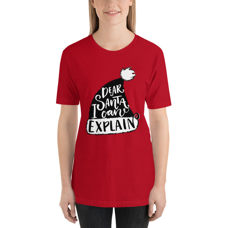 Dear Santa, I Can Explain Christmas T-Shirt