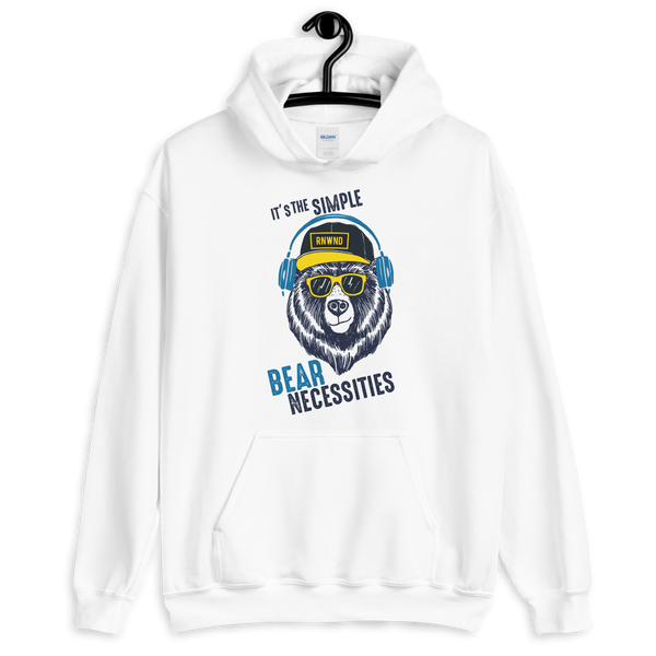 It's The Simple Bear Necessities Unisex Hoodie