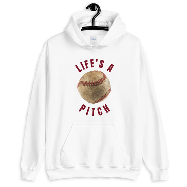 Life's a Pitch Hoodie