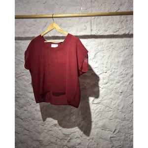 Lina crop shirt. - Plhi studio