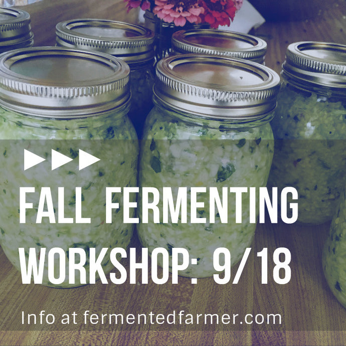 Fall Fermenting Workshop