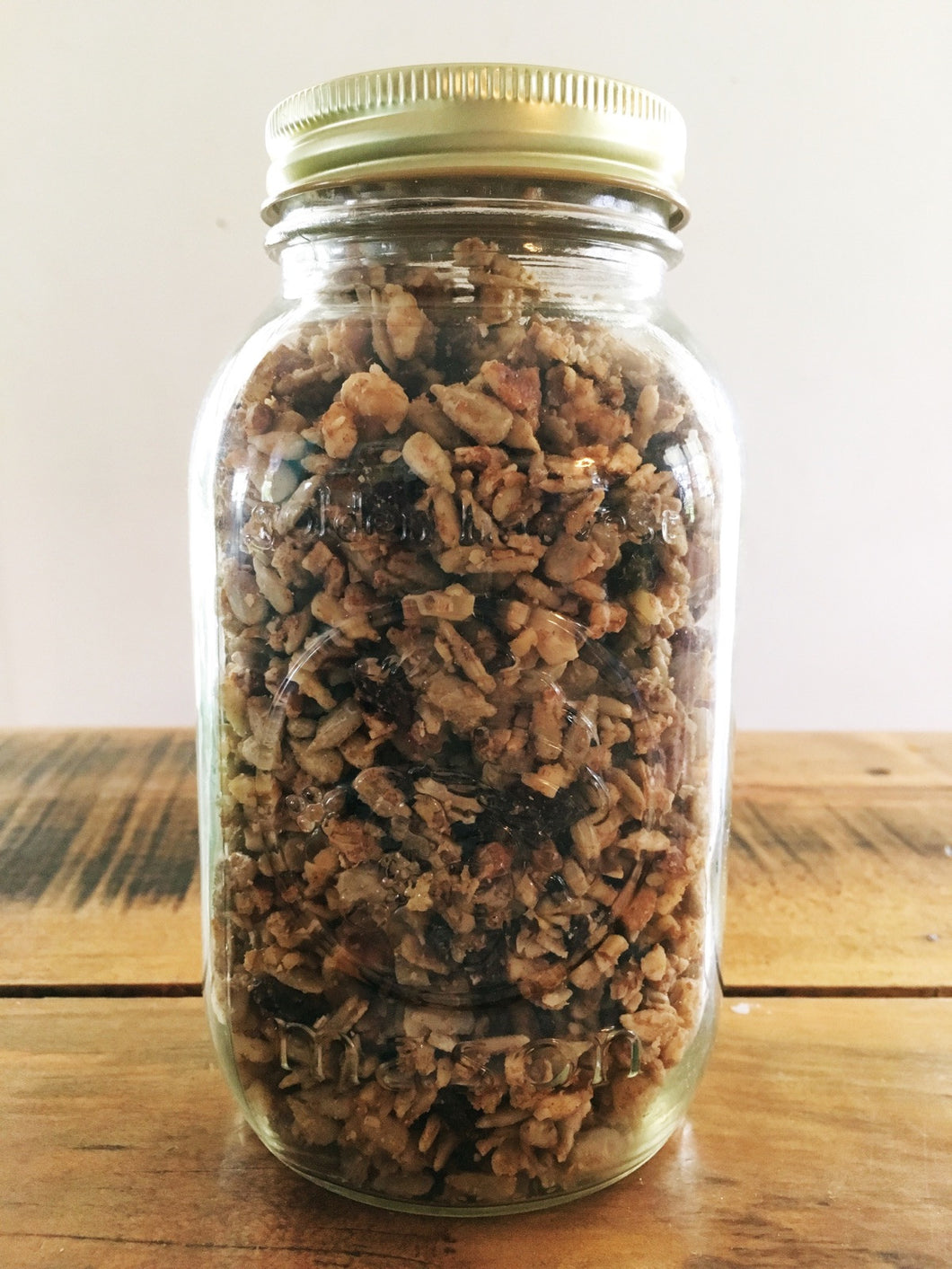 Lacto Fermented Granola - Paleo Version
