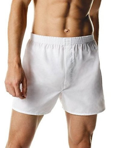 Hanes Full-Cut Woven Boxers 55/45 3 Pack