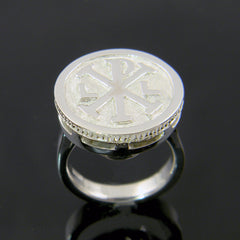 Continuum Silver Signet Ring