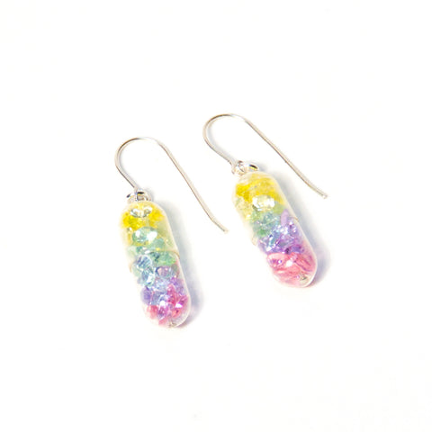 Summer Gradient Pill Earrings
