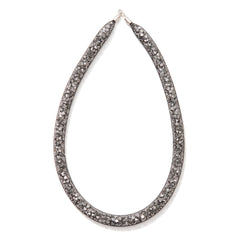 Thick Gunmetal Necklace
