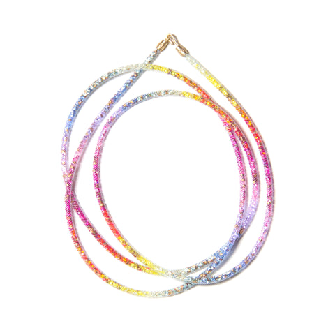 Magic Rainbow Thread Necklace
