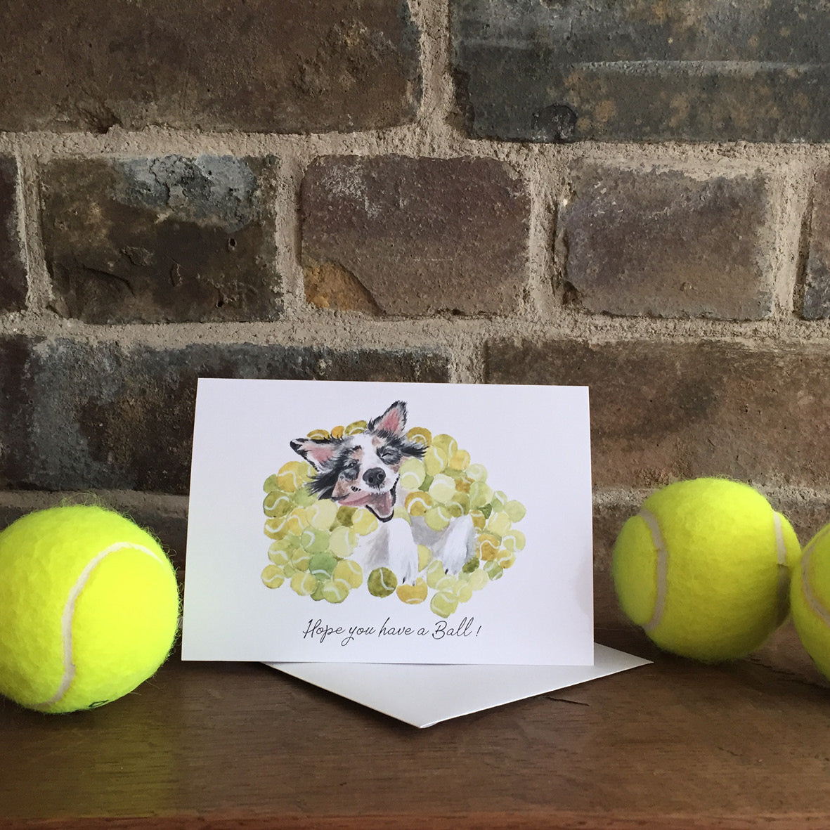 Hope you have a Ball Greeting Card - Congratulations Card