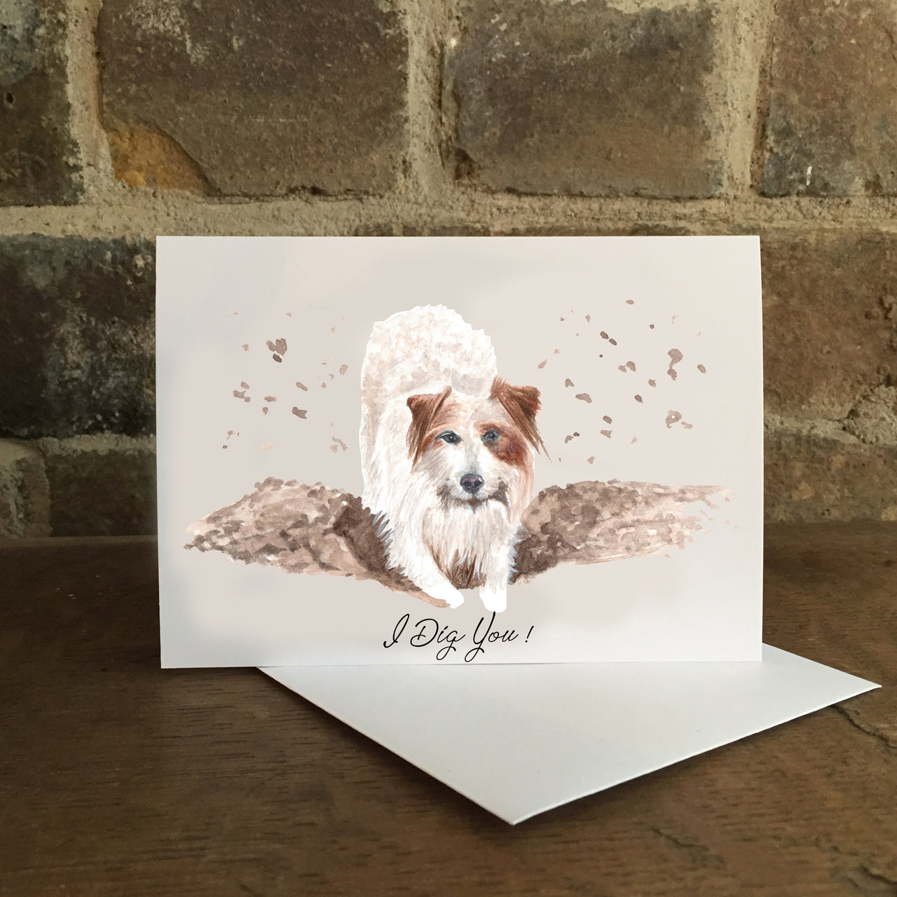 I Dig You Card - Greeting card for loved one