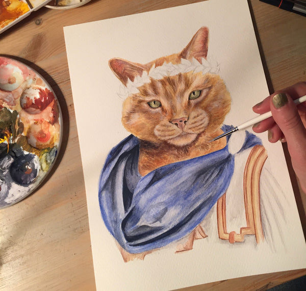 Gravy the Ginger Cat