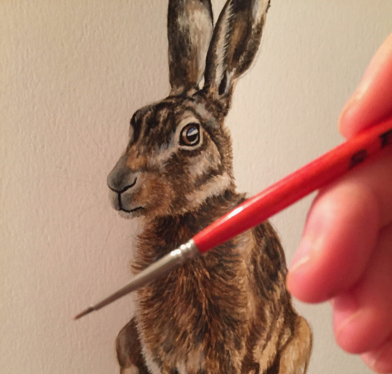 Hare - Wildlife Painting