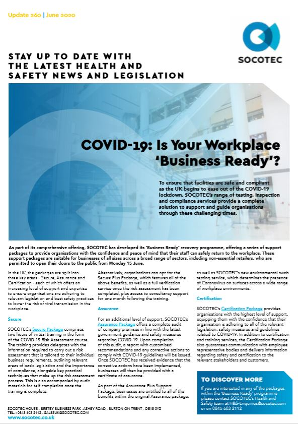 COVID-19: Is Your Workplace 'Business Ready'?