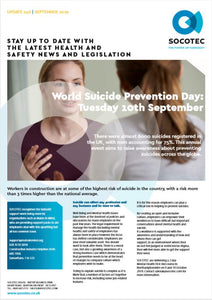 World Suicide Prevention Day: Tuesday 10th September