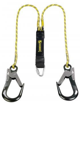 Chunkie 2 Tails Fall Arrest Lanyard With Large Snap Hook