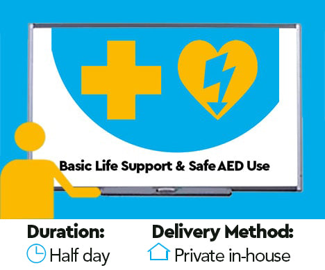 Level 2 Award in Basic Life Support and Safe use of an Automated External Defibrillator