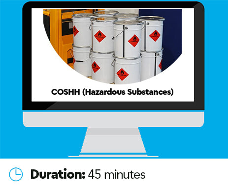 COSHH (Hazardous Substances) Online Training Course
