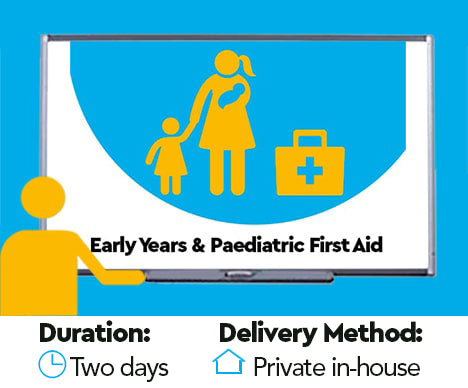 Level 3 Award in Early Years / Paediatric First Aid