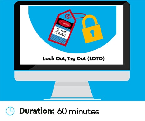Lock out Tag out LOTO online training
